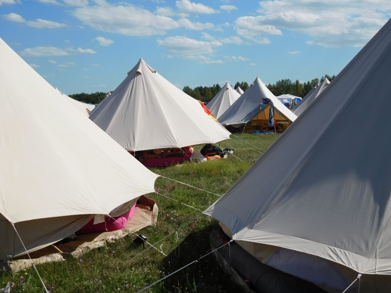 Bell tent & Bell tent max ()