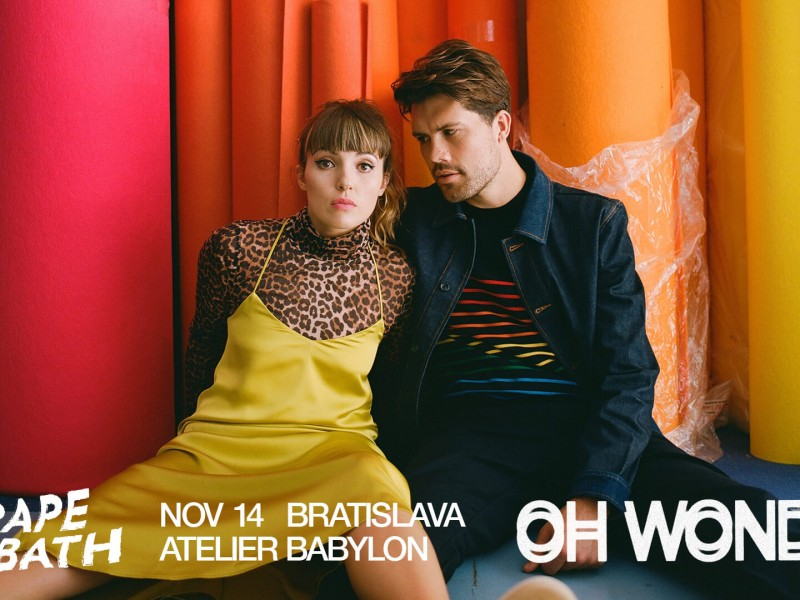 Oh Wonder (uk) / Bratislava