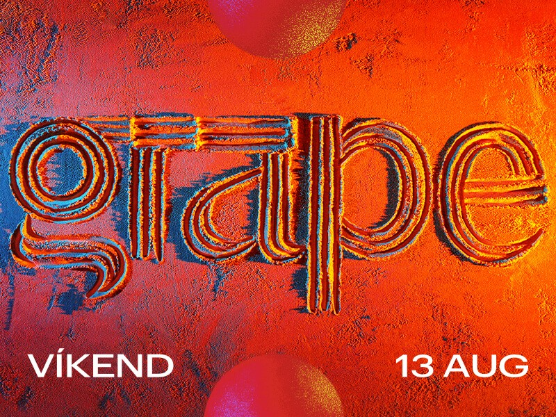 Vec + band and Medial Banana will perform on Friday night at Grape weekend ()