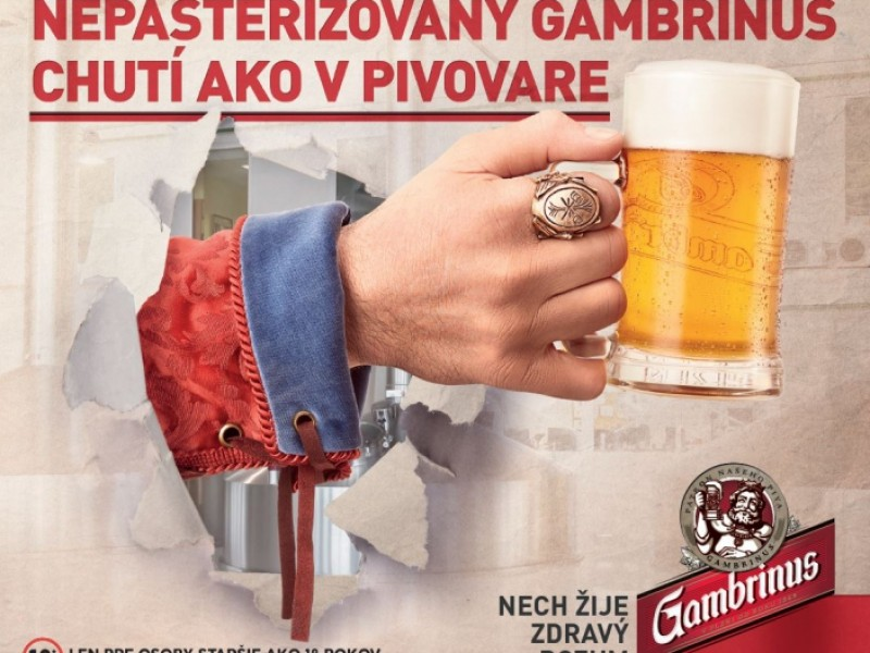 Gambrinus Nepasterizovaný